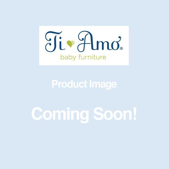 Ti Amo Avenue Island Crib in Snow White / Natural