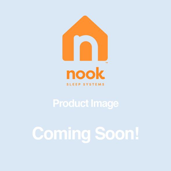 Nook Pebble Organic Crib Mattress Cover- Sea Glass