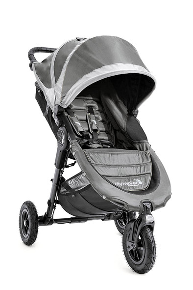 Baby Jogger City Mini GT Single Travel System in Steel Gray