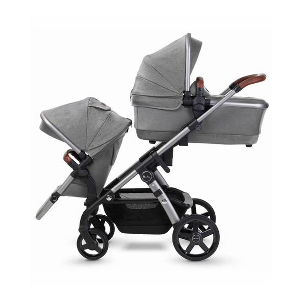 Silver Cross Wave 2 Stroller  Zinc