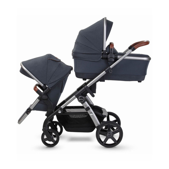 Silver Cross Wave 2 Stroller  Indigo