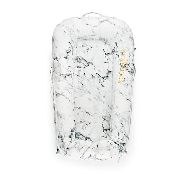 Dock A Tot Deluxe+ Cover - Carrara Marble
