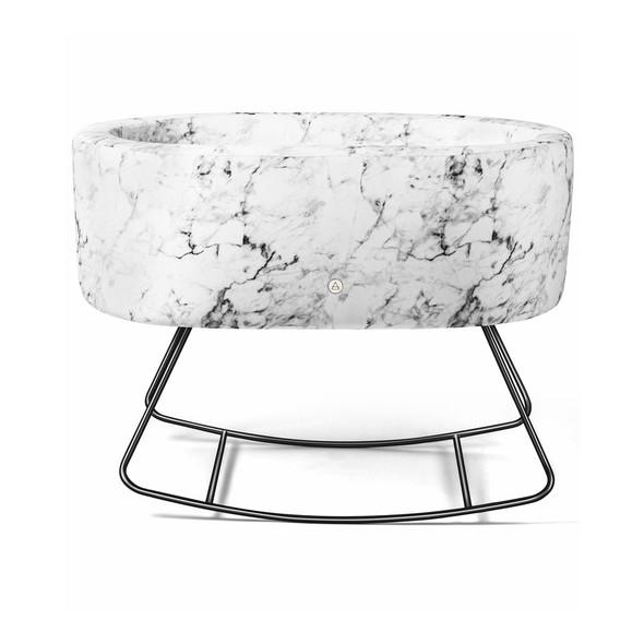 Aristot Bassinet - Carrara Marble