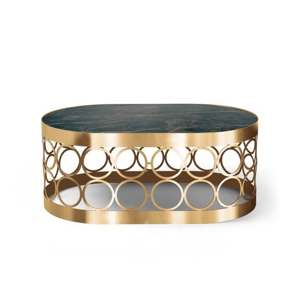 Aristot Oval Table Top - Noir Desir