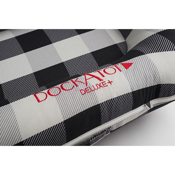 Dock A Tot Deluxe+ Dock - Charcoal Buffalo