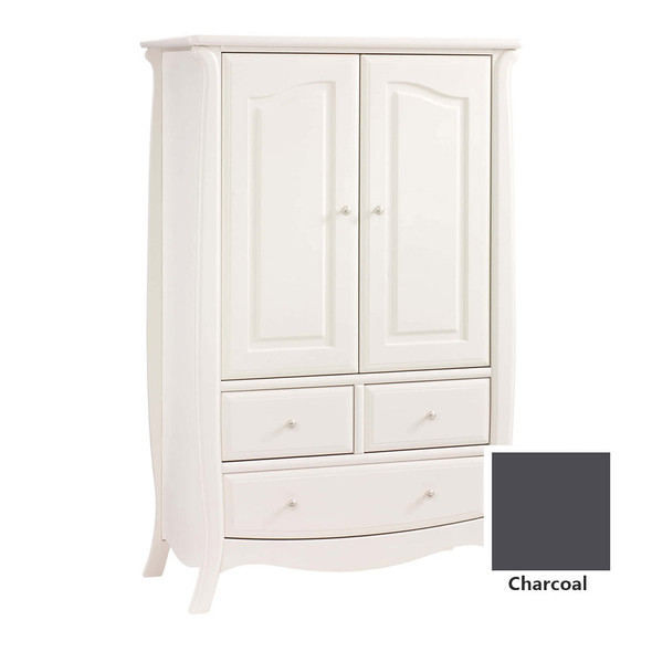 Natart Bella Armoire in Charcoal