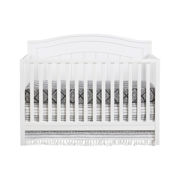 Oxford Baby North Bay 4 In 1 Convertible Crib Snow White