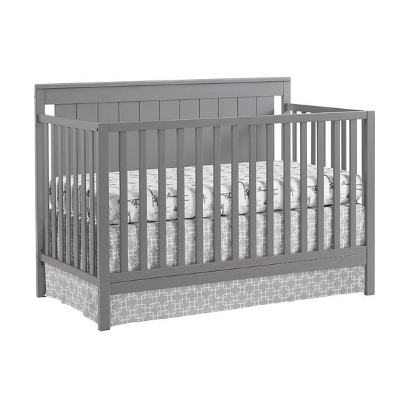 Oxford Baby Lazio 4 In 1 Convertible Crib Dove Gray