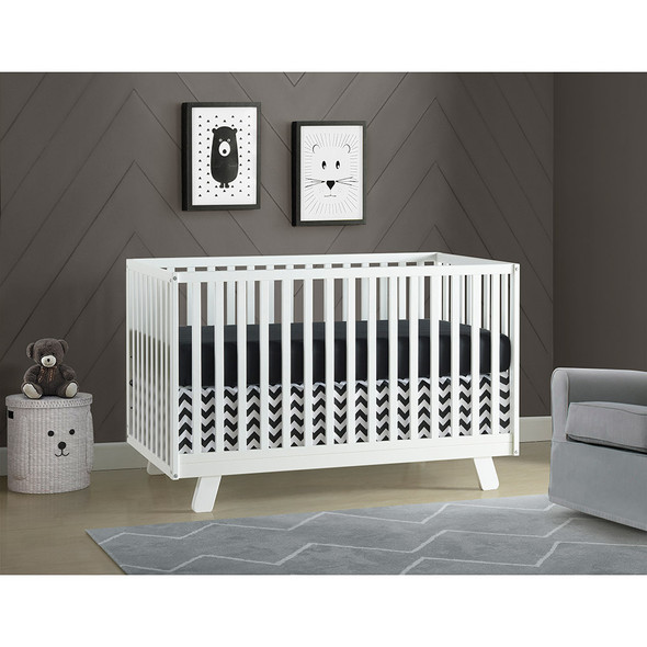 Oxford Baby Onni 3 In 1 Crib  White