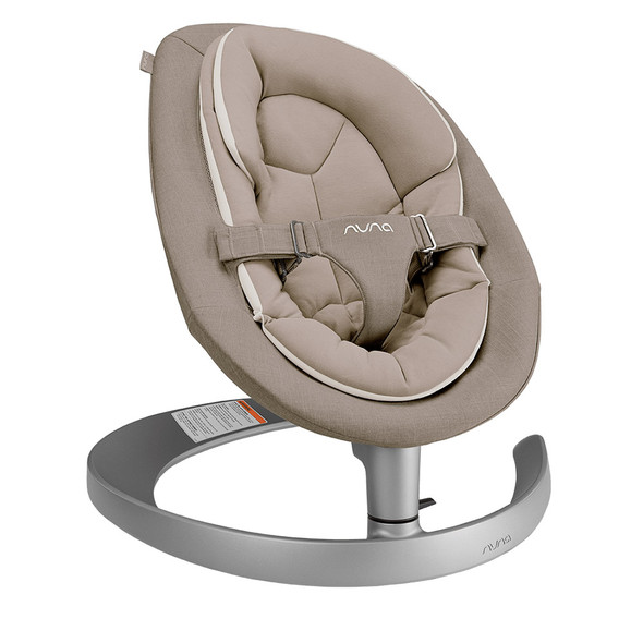 Nuna LEAF Grow Bouncer in Biscotti