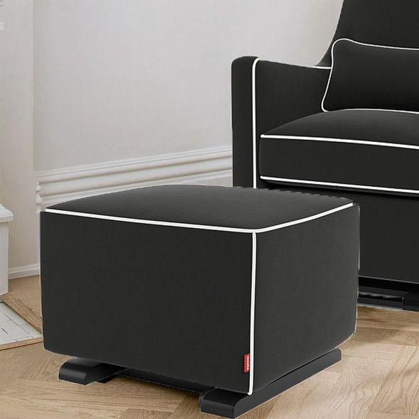 Monte Luca Ottoman with Performance Microfiber Fabric