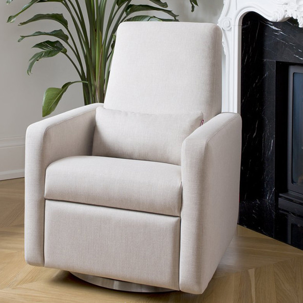 Monte Grano Glider Recliner with Performance Heathered Fabric