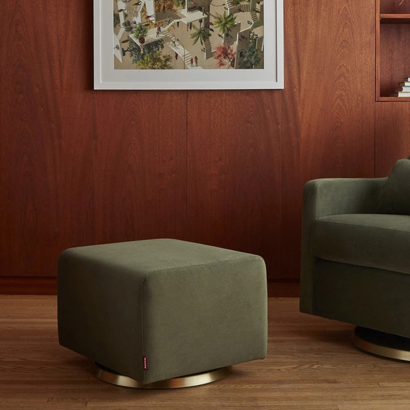 Monte Vera Ottoman with Performance Heathered Fabric