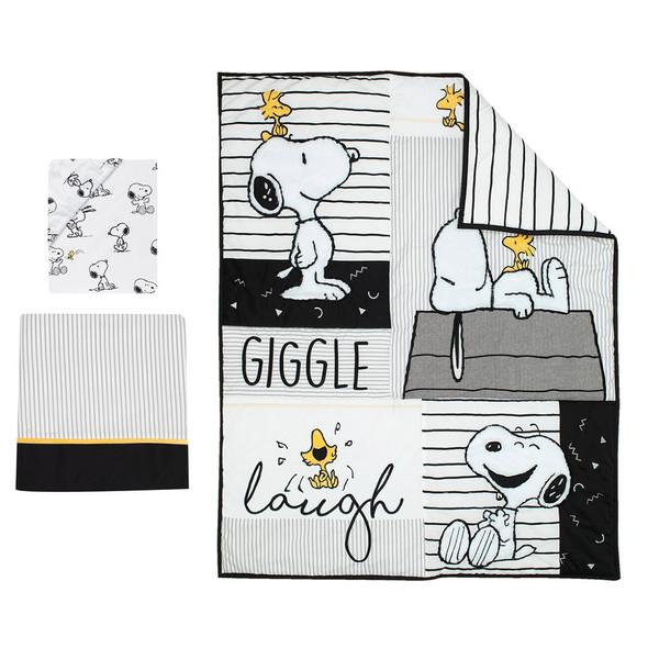 Lambs & Ivy Classic Snoopy 3-Piece Bedding Set