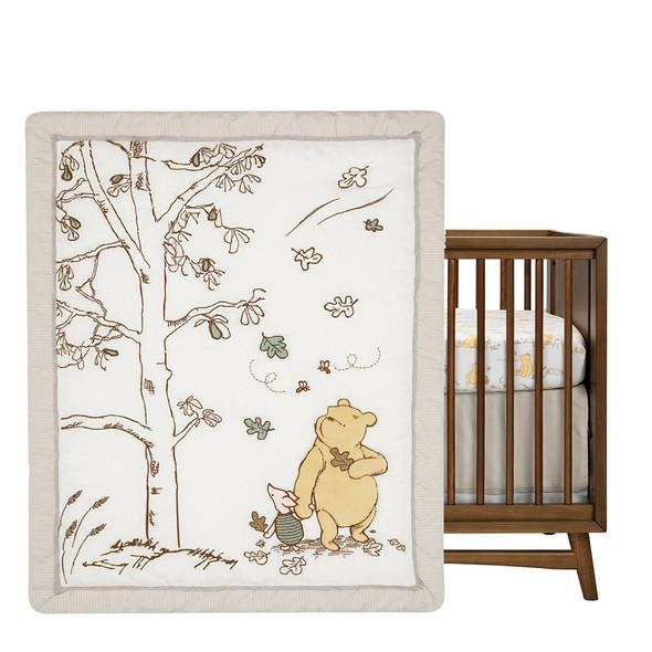 Lambs & Ivy Storytime Pooh 3-Piece Bedding Set