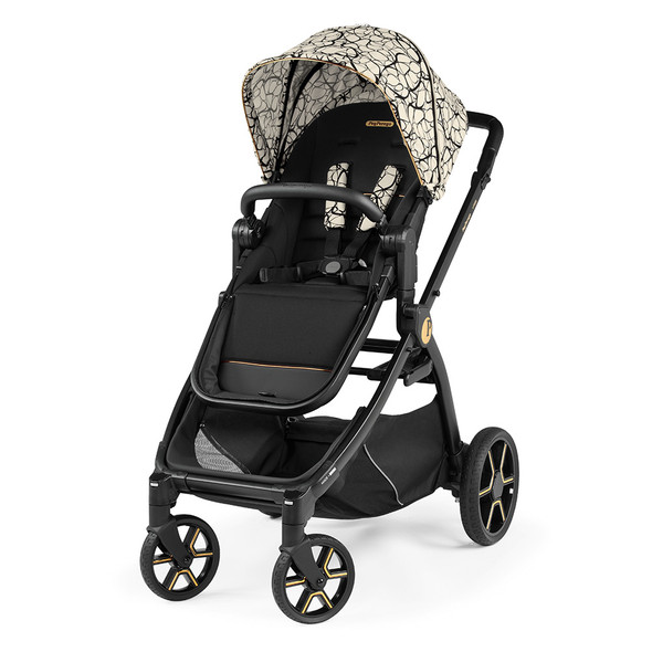 Peg Perego YPSI Stroller in Graphic Gold