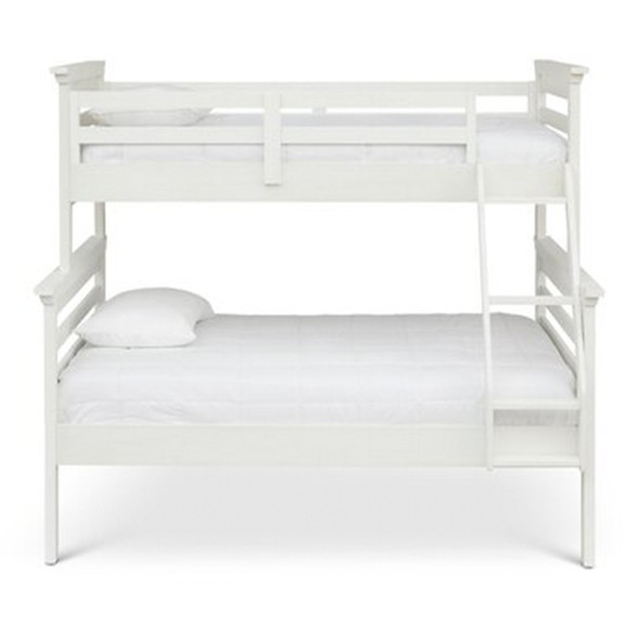 Ti Amo Castello Twin over Full Bunk Bed in Weathered Seashell