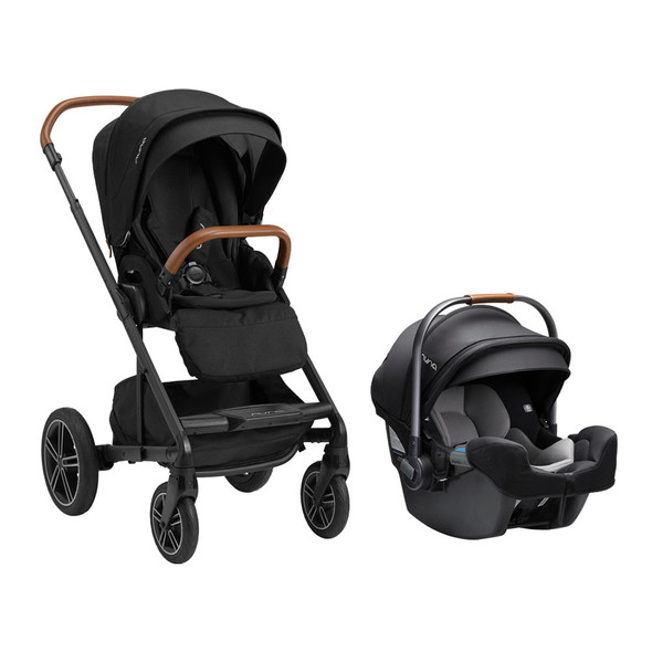 Nuna MIXX Next w/ Magnetic Buckle + Pipa RX in Caviar