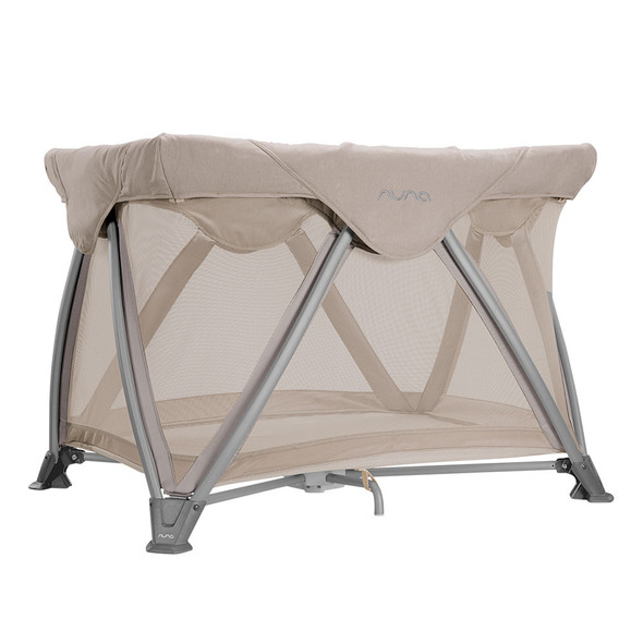 Nuna SENA Aire w/ Organic Cotton Sheet in Champagne