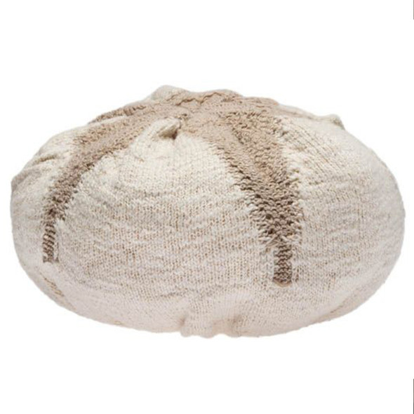 Lorena Canals Knitted Cushion Cotton Boll