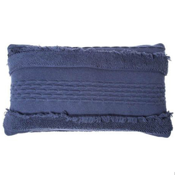 Lorena Canals Knitted Cushion Air Alaska Blue