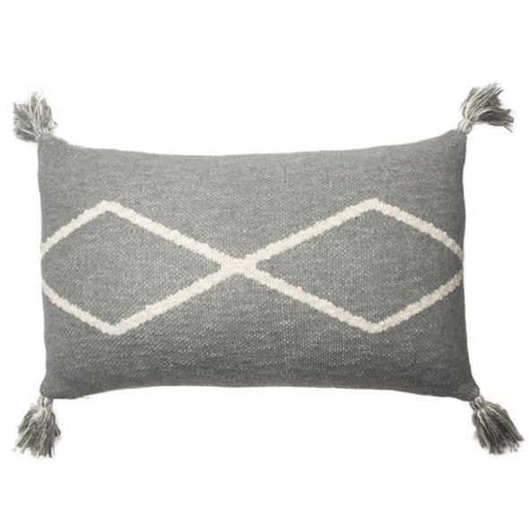 Lorena Canals Knitted cushion  Oasis Grey