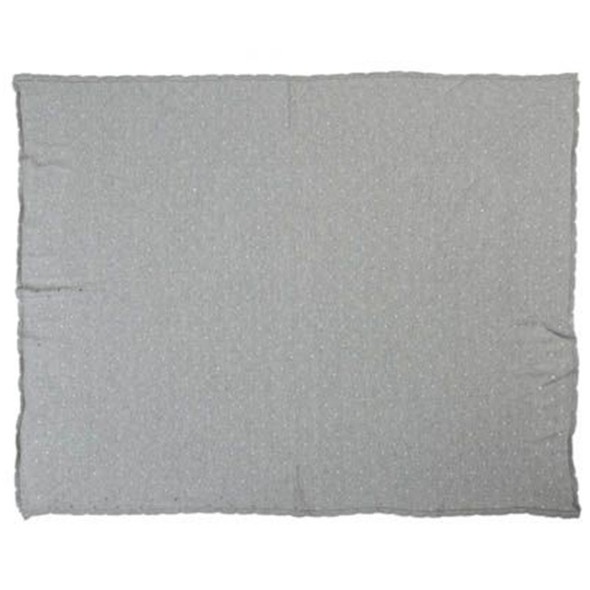 Lorena Canals Knitted Baby Blanket Biscuit Light Grey