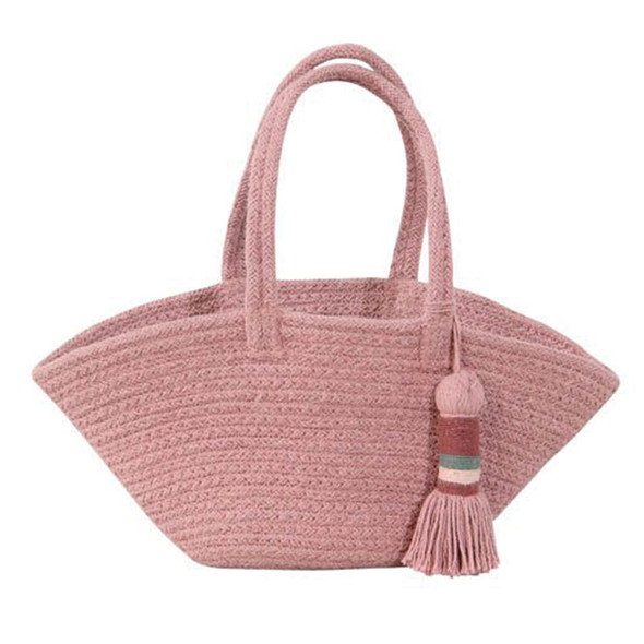 Lorena Canals Basket Cistell Ash Rose - Small