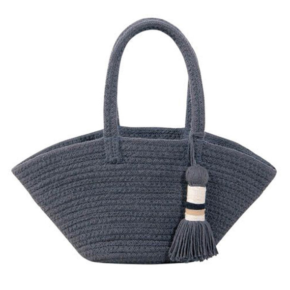 Lorena Canals Basket Cistell Dark Grey - Small