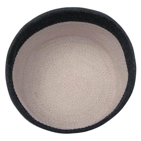 Lorena Canals Basket Dual Black -Pearl Grey