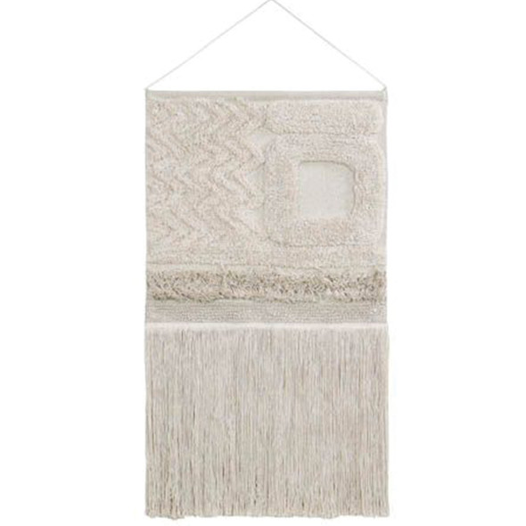 Lorena Canals Wall hanging Earth Dune White