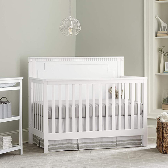 Westwood Emery Panel Convertible Crib In White