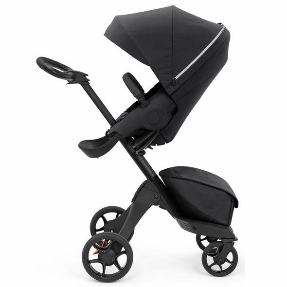 Stokke Xplory X Stroller in Rich Black
