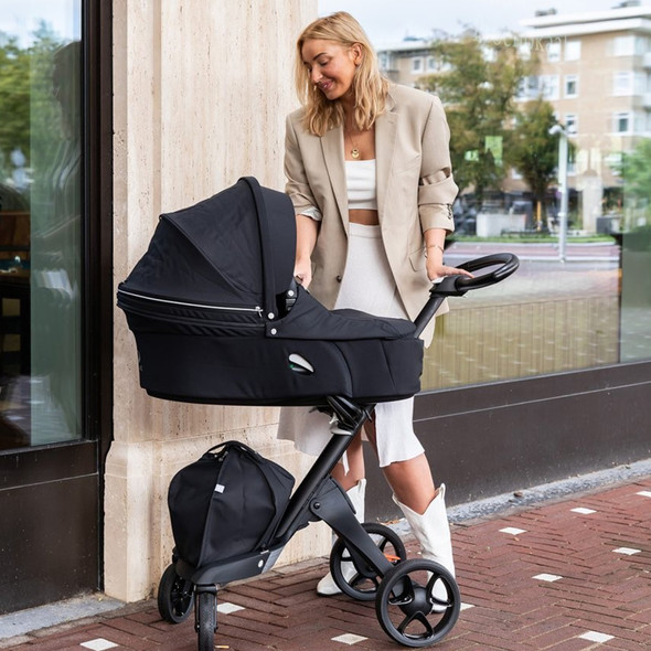 Stokke Xplory X Stroller in Rich Black