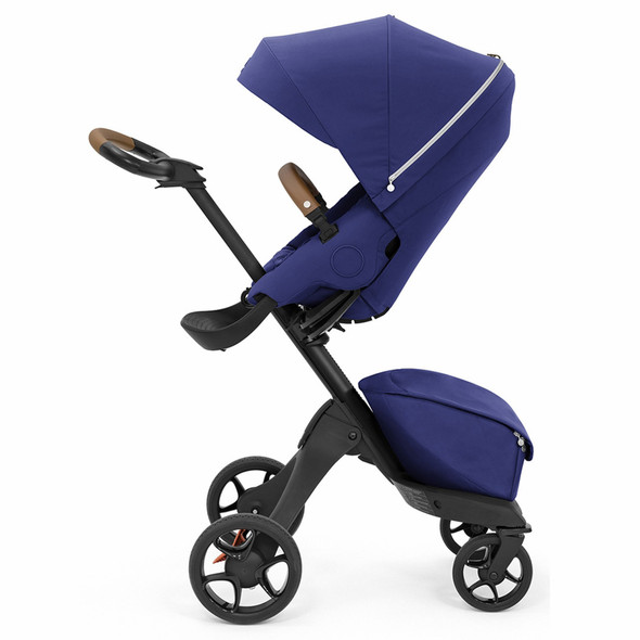 Stokke Xplory X Stroller in Royal Blue