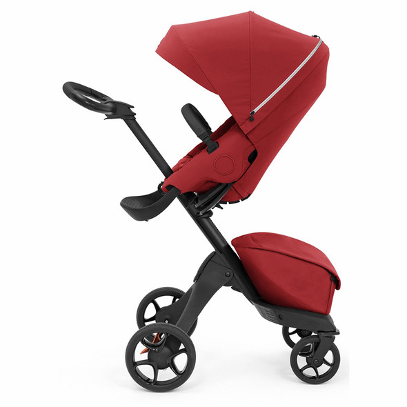 Stokke Xplory X Stroller in Ruby Red