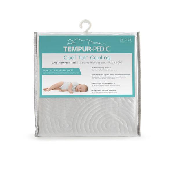 Kolcraft Tempur-Pedic Cool Tot Cooling Crib Mattress Pad in Quilted Cooling Tempur