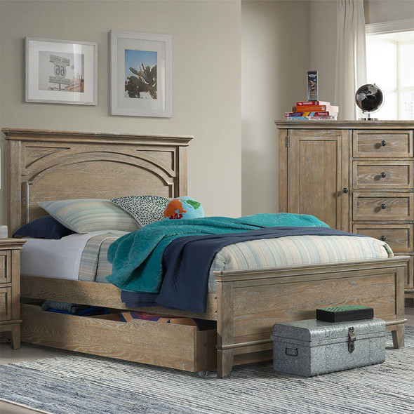Westwood Leland Youth Complete Full Bed In Sandwash