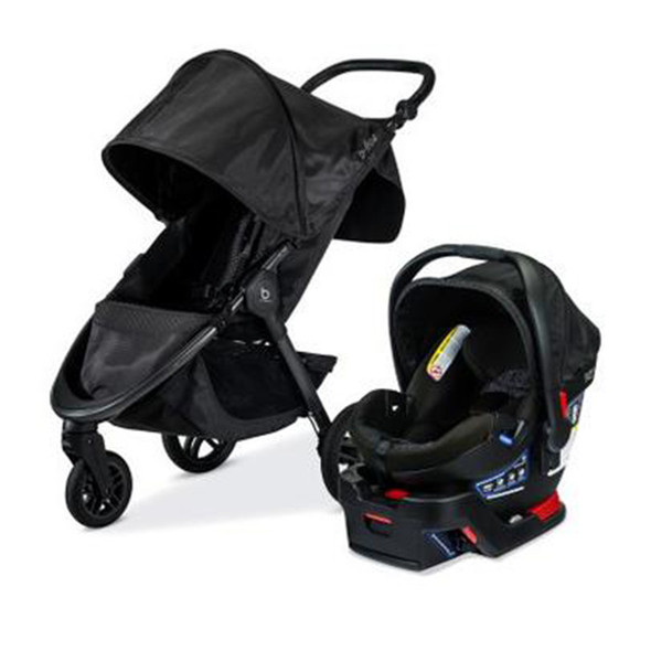 Britax Travel System B-Safe Gen2 Flex Plus/B-Free in Midnight
