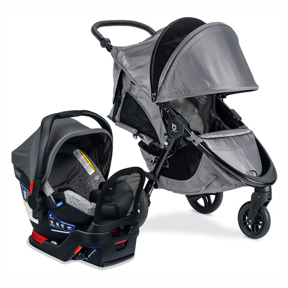 Britax Travel System B-Safe Gen2 Flex Plus/B-Free in Asher