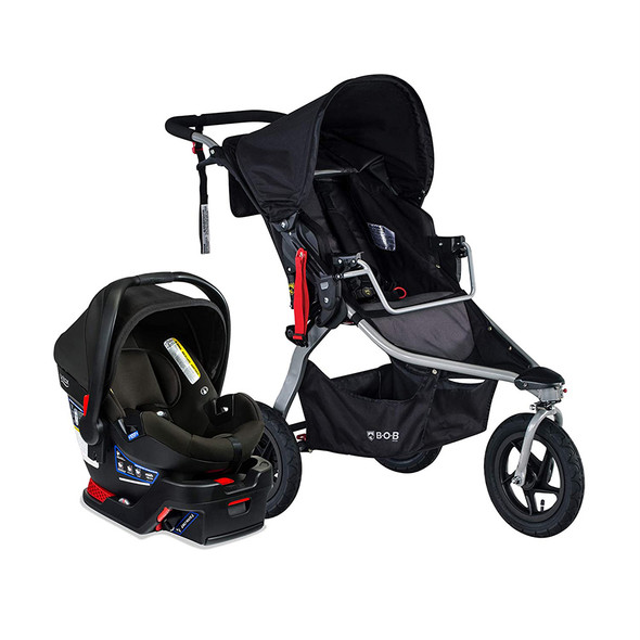 Britax Travel System B-Safe Gen2/BOB Gear Rambler in Black
