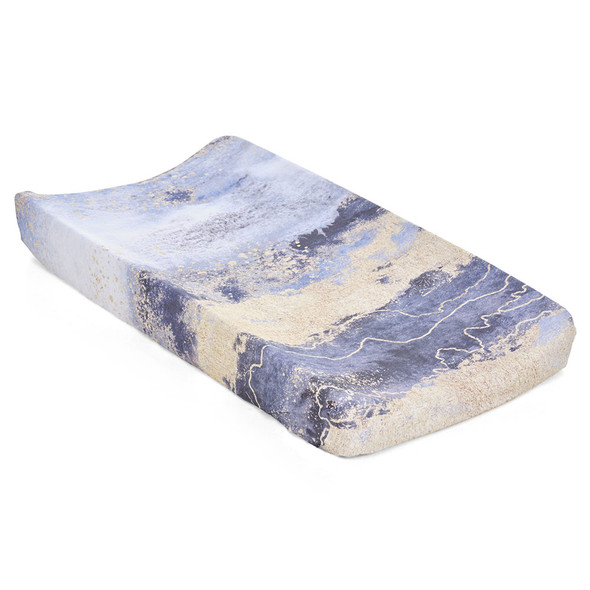 Oilo Midnight Sky Jersey Changing Pad Cover