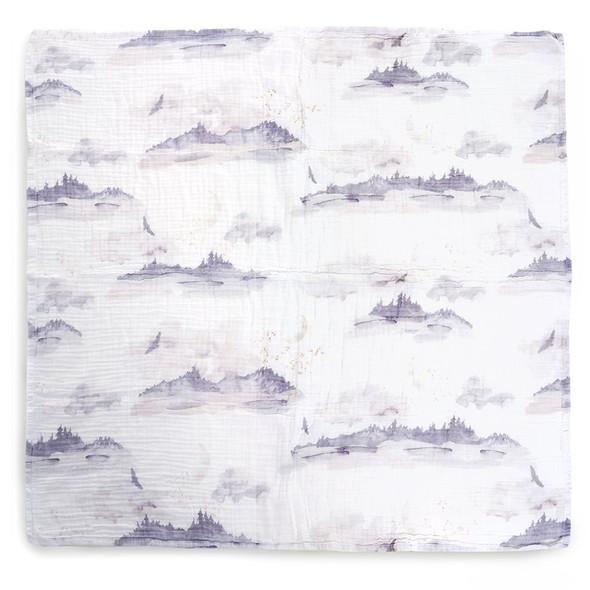 Oilo Misty Mountain Swaddle Blanket