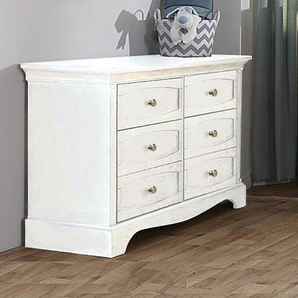 Pali Enna Double Dresser in Vintage White