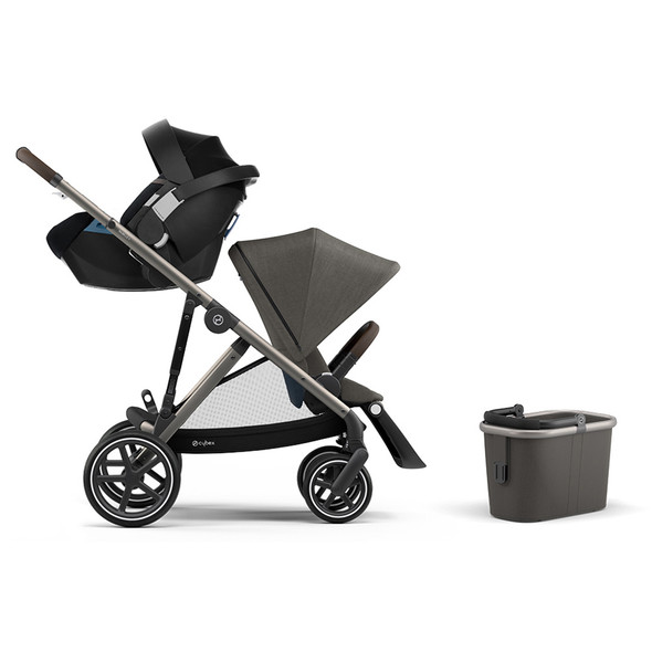 Cybex Gazelle Stroller / Aton 2 - Soho Grey
