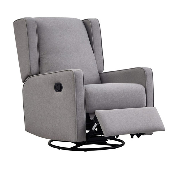 Westwood Chelsea Manual Swivel, Glider, Recliner in Shadow