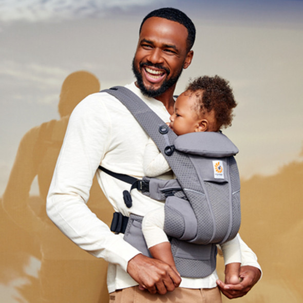 Ergobaby Omni Breeze Baby Carriers - Graphite Grey