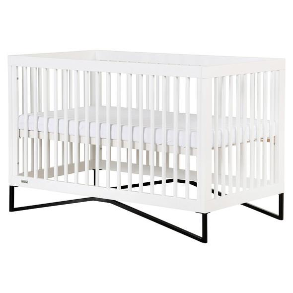 Dadada Kenton 3-in-1 crib, white + black