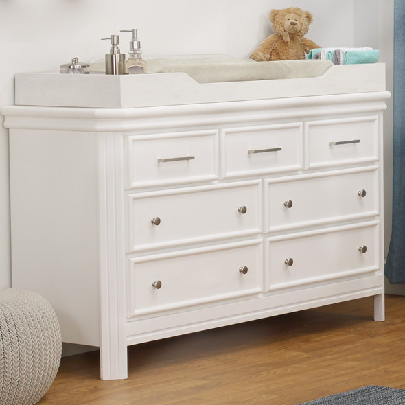 Sorelle Finley Elite Double Dresser in White