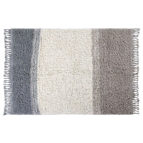Lorena Canals XL Woolable Rug Free Your Soul Into the Blue